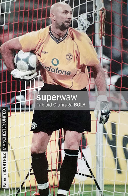 PIN UP FABIEN BARTHEZ (MANCHESTER UNITED)