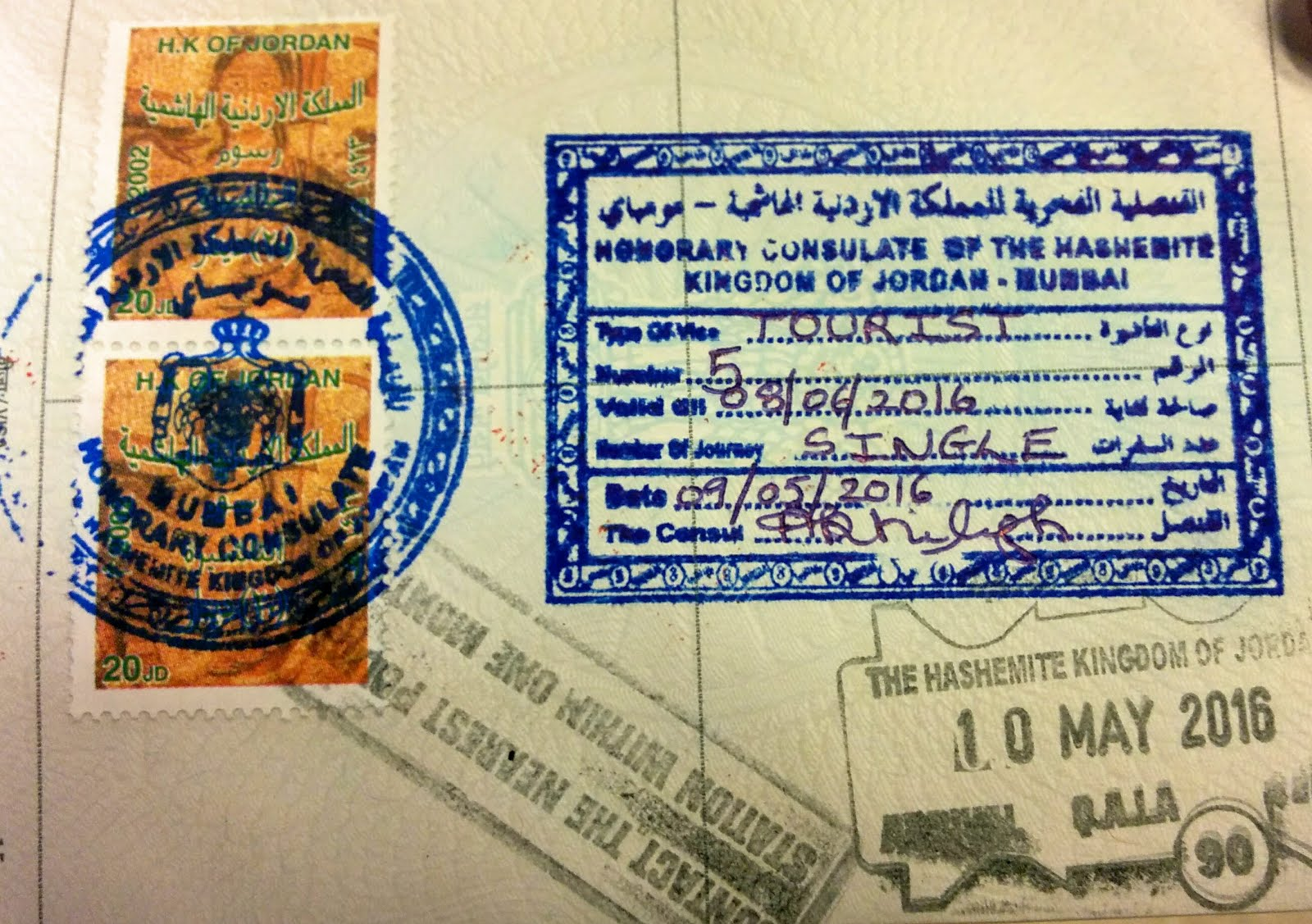 Jordan Visa for Indians