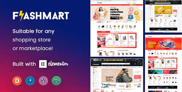 Multipurpose Elementor WooCommerce WordPress Theme