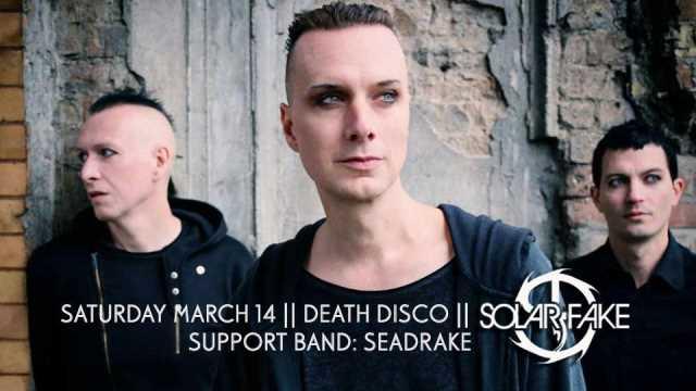 SOLAR FAKE: Σάββατο 14 Μαρτίου @ Death Disco