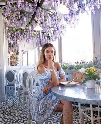 Lydia Elise Millen sitting down