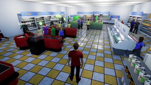 تحميل لعبة King Of Retail الكمبيوتر مجانا