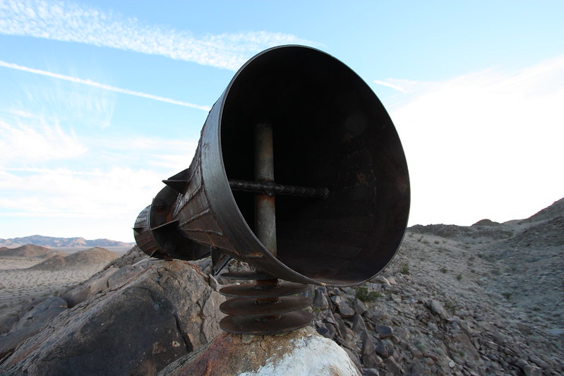 mojave megaphone, desert megaphone map, metal megaphone, strange things in the mojave desert, mojave desert rocks, megaphone wiki, big megaphone, mojave wiki, mojave desert mysteries, mysteries of the mojave, mojave desert directions, desert mysteries, mojave desert megaphone experiment 1932