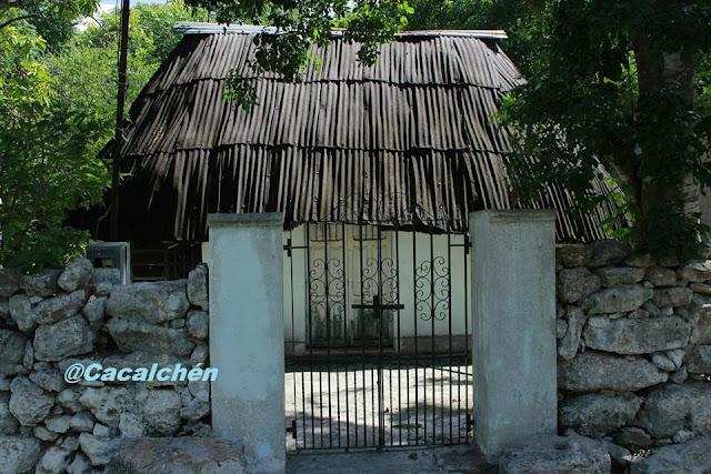Maya Naj data del siglo xvii en la península de yucatan