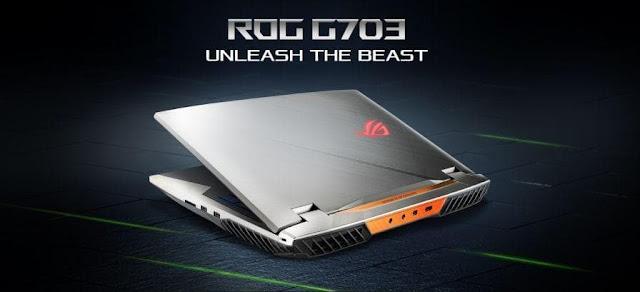 ASUS ROG G703 dengan Kartu Grafis Termahal RTX 2080