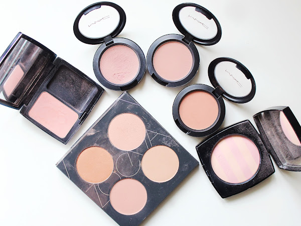 Best Sculpting Blushes - Including Swatches!