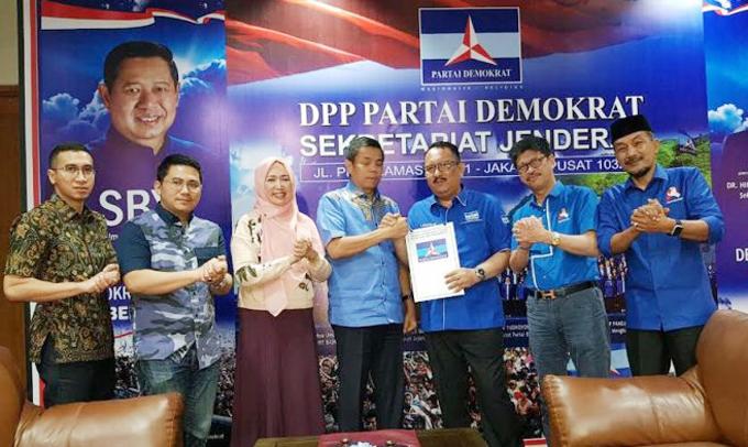 IYL-Cakka Resmi Kantongi Surat Tugas dari Demokrat