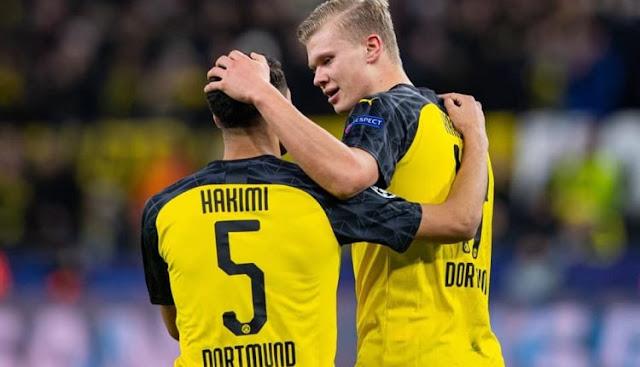 """وكالة الأنباء الألمانية : فريق دورتموند الألماني  يستعد لضم اللاعب الدولي المغربي """"أشرف حكيمي"""" نهائياً بعقد طويل الأمد قراو التفاصيل⇓⇓⇓"""