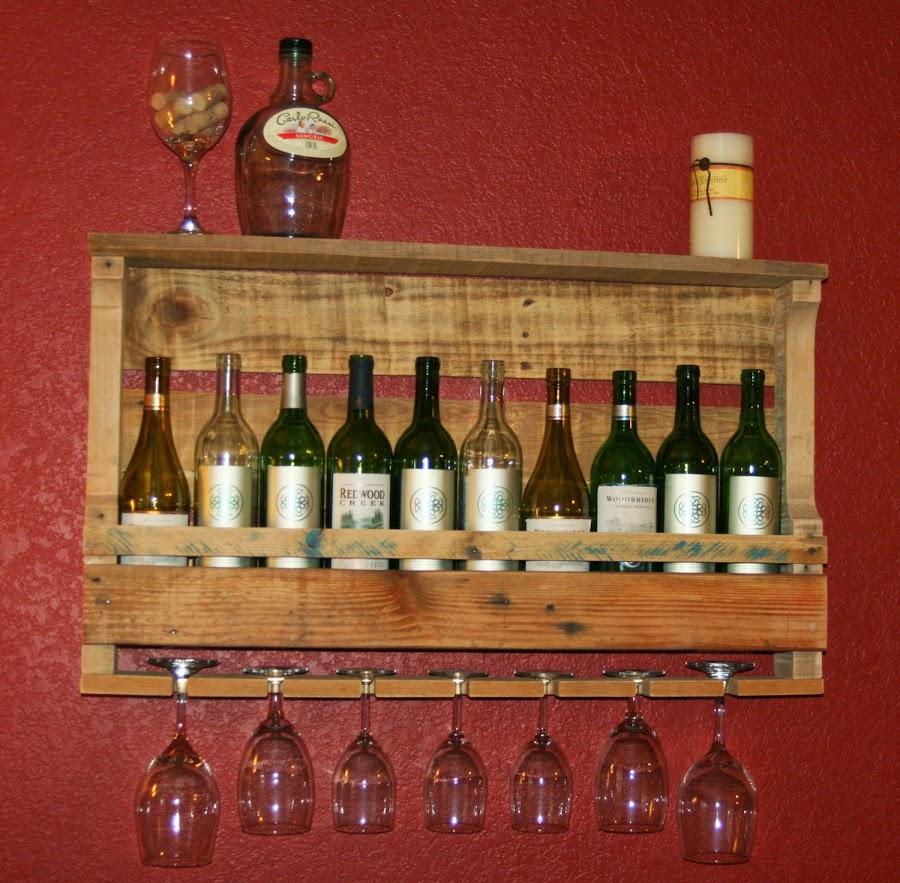 estantes o vinoteca
