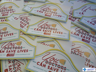 Promotional Stickers - Sagip Buhay Foundation