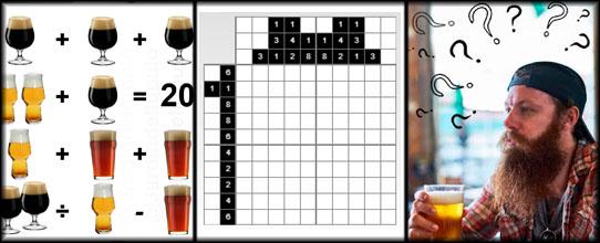 Sección: Ejercicios Mentales Cerveceros