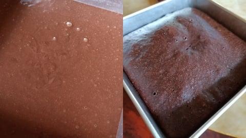 Tepung segera kek coklat kukus