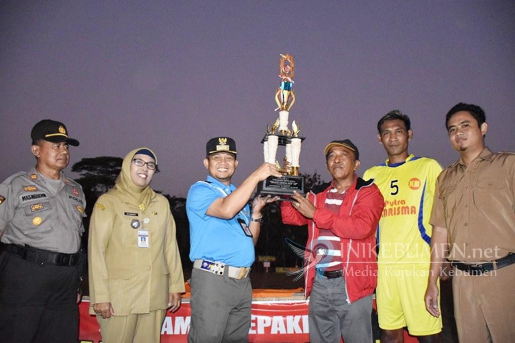 Menang Adu Penalti, Putra Karisma Petanahan Juara Turnamen Sepakbola Fajar Muda Cup