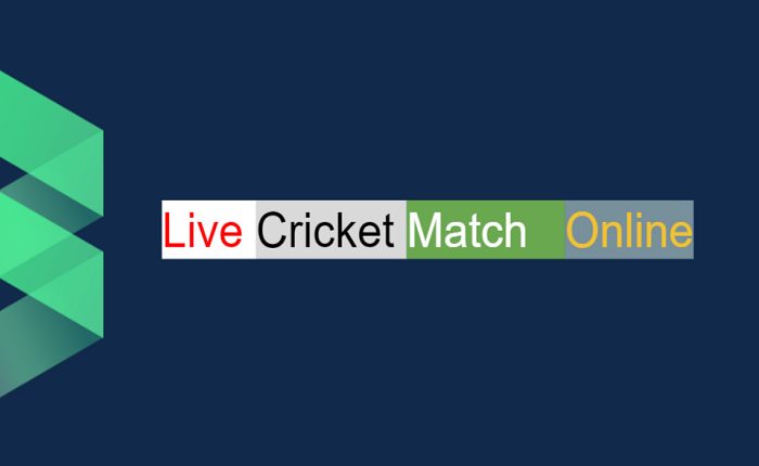 Online match today