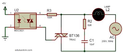 Apa itu TRIAC ? Cara Kerja Serta Aplikasi Dari TRIAC