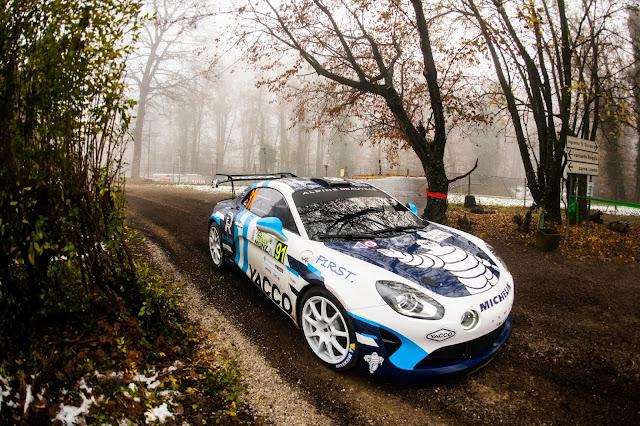 Porsche rally car at Rally Monza