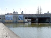 ウルク運河が始まるラ・ヴィレット