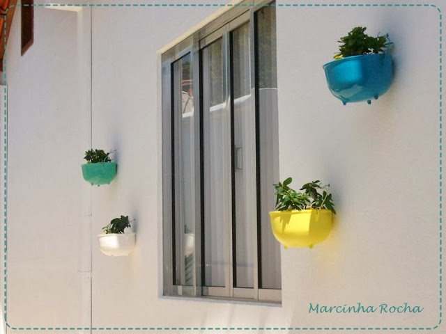 panelas de ferro pintadas com plantas