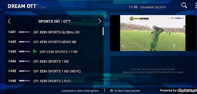 أكواد حصرية لتفعيل تطبيق Dream OTT apk و مشاهدة جميع قنوات العالم على الاندرويد