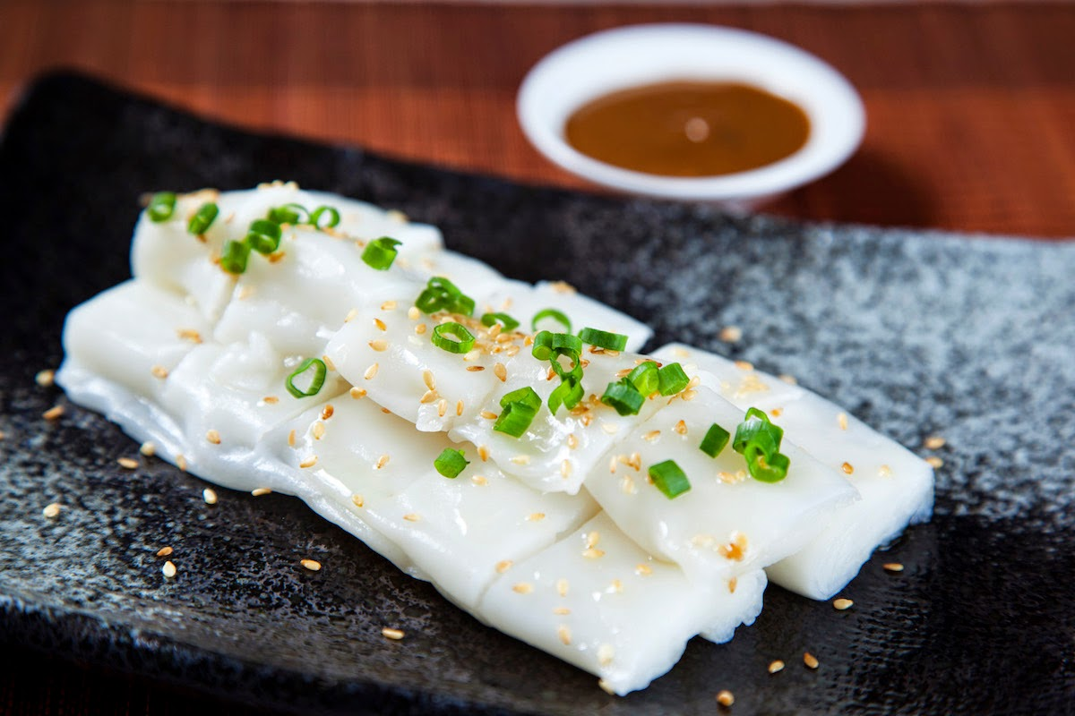 Signature Dish Chee Cheong Fun with Foie Gras