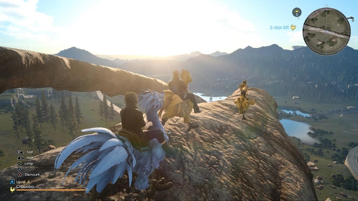 Square Enix nos presenta en detalle el DLC Gladiolus y la actualización de marzo de FF XV