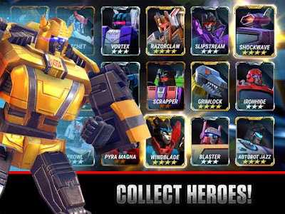 Download Transformers: Earth Wars Beta  Apk v1.37.0.16054 Mod Terbaru