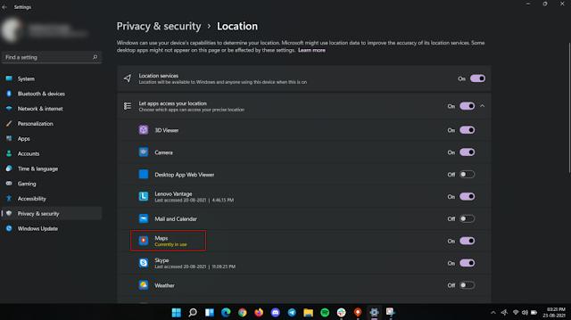 ¿Cómo encontrar aplicaciones de Windows 11 que usen su micrófono y ubicación?