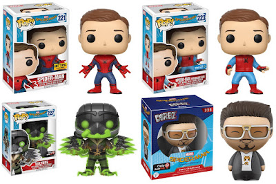 Retailer Exclusive Spider-Man Homecoming Pop! & Dorbz Marvel Figures by Funko - Spider-Man, Iron Man & Vulture