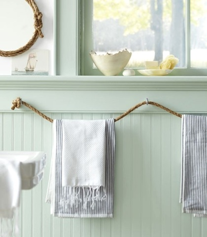 rope towel holders
