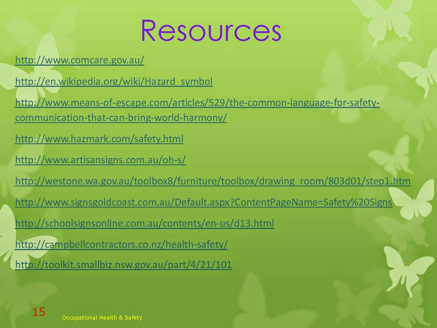 RESOURCES FOR DESIGNERS STUDIOS