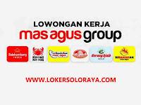 Loker Solo Marketing Online, Waiters & Crew Resto di Mas Agus Group