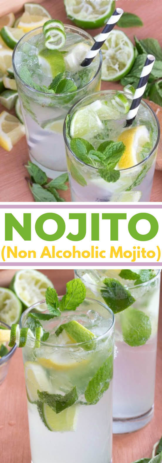 Nojito Recipe #drink #nonalcohol #summer #soda #beverages