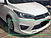 Harga Dan Fisik : Spoiler / Bodikit Depan Toyota Yaris TRD Sportivo 2014