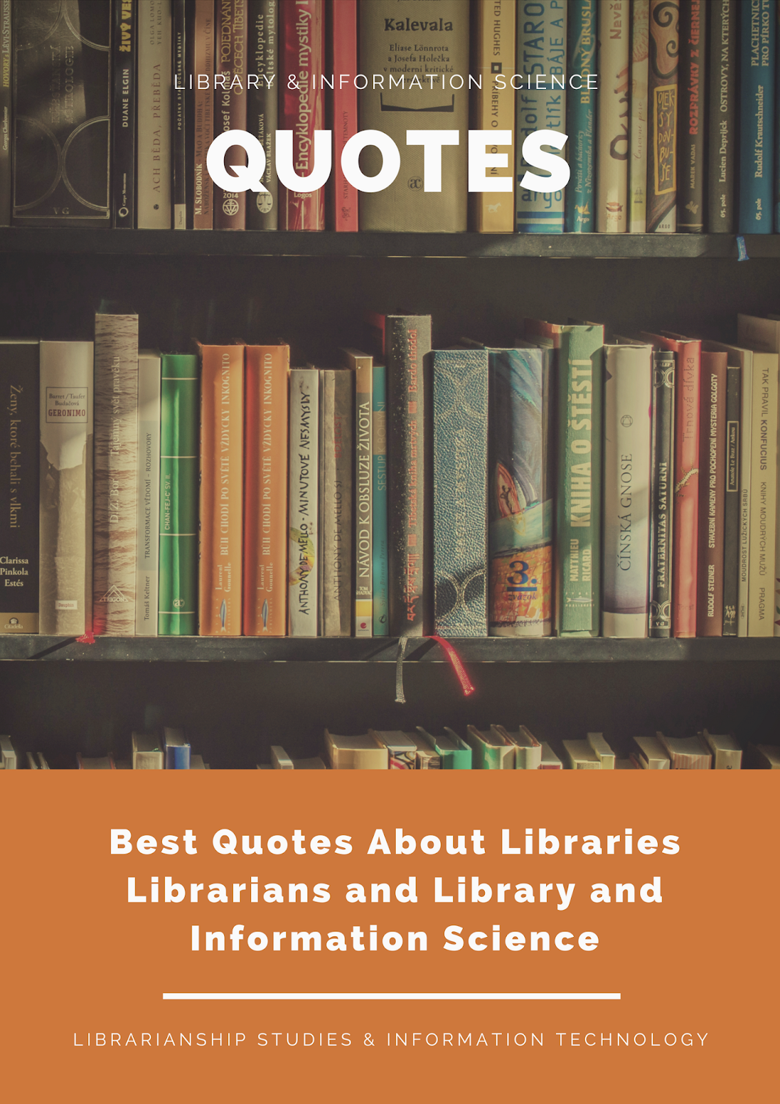 best quotes about libraries librarians and library and information science