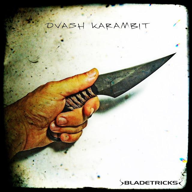 Best karambit maker Bladetricks custom hand made Dvash edc knife