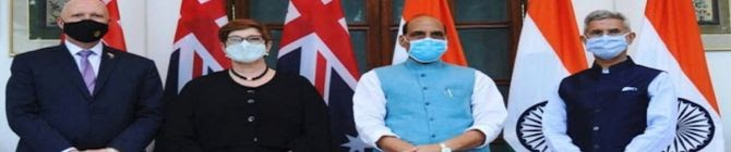 Quad Has Evolved Swiftly, Very Effectively: Australian Foreign Minister Marise Payne
