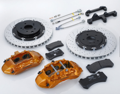 R35 GT-R brakes for Nissan Skyline GT-R