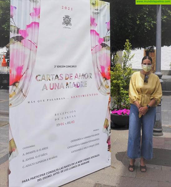 """El Ayuntamiento de Los Llanos de Aridane convoca la II edición del concurso de redacción """"Cartas de Amor a una Madre"""""""