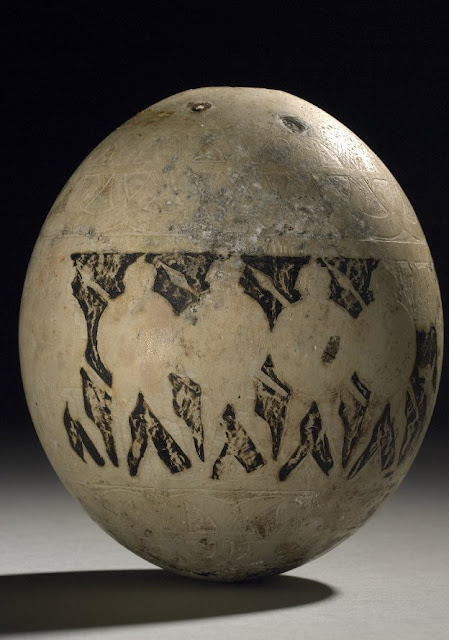 Ancient trade in ostrich eggs investigated