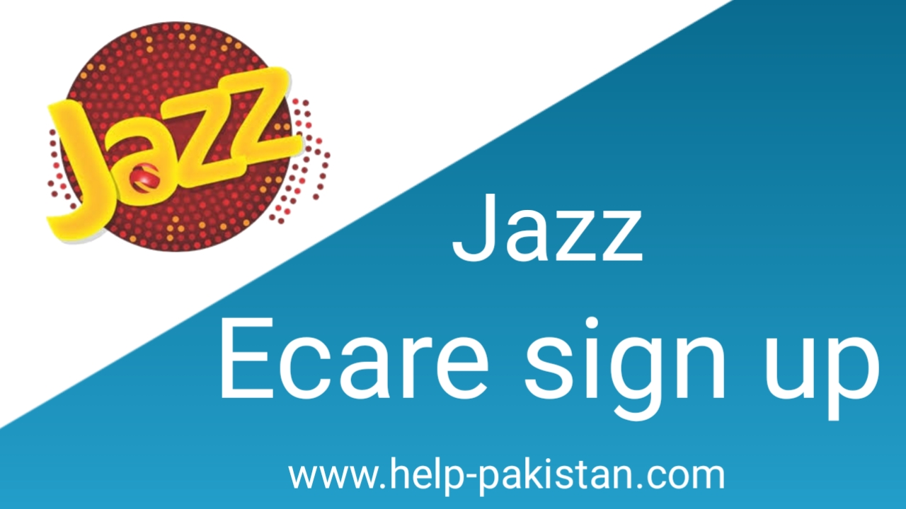 Jazz ECare Sign up