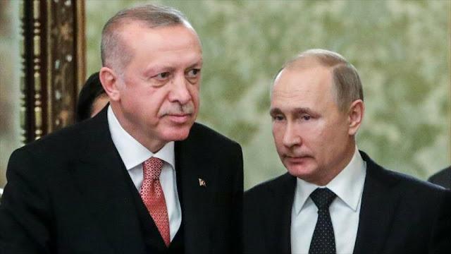 Putin: Las fuerzas militares extranjeras deben salir de Siria