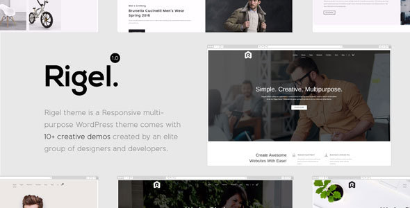 Rigel - Multi-Purpose Responsive WordPress Theme