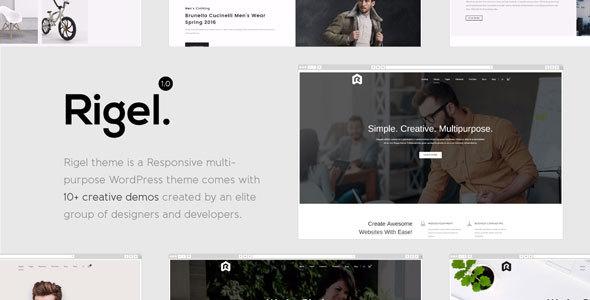 Rigel - Multi-Purpose Responsive WordPress Theme