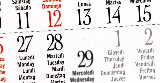 Asal Usul Nama Hari dari 3 Bahasa Dunia