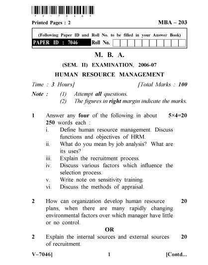 Human Resource Exam 1