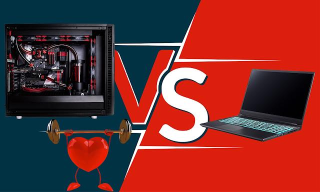 Laptop gaming yếu hơn PC gaming