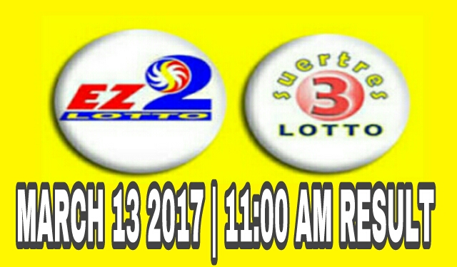 Morning monday weekly lottery