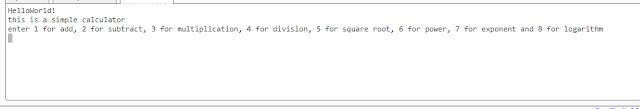 برنامج آلة حاسبة بلغة C++ باستخدام الدوال الفرعية