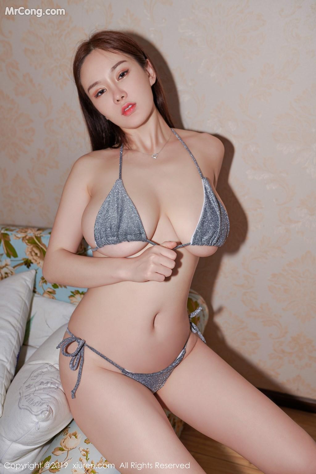 Image XIUREN-No.1594-Silvia-MrCong.com-003 in post XIUREN No.1594: 易阳Silvia (39 ảnh)