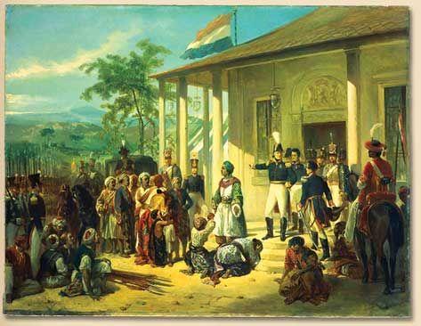 Pangeran Diponegoro Ditangkap